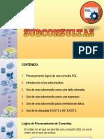 6. Subconsultas