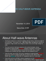 The End Fed Half Wave Antenna