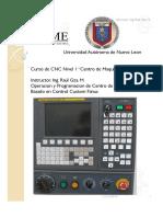 Curso de CNC NIvel 1 Centro de Maquinado FIME.pdf
