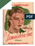 Ion Agârbiceanu - Domnisoara Ana '{ClasicRo}
