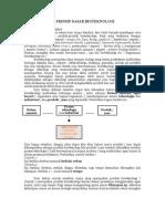 Pengertian Dan Prinsip Dasar Bioteknologi