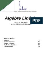 Cours Algèbre Linéaire S2