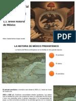 1.1 BREVE HISTORIA DE MÉXICO