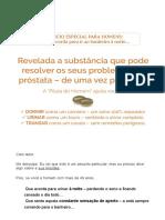 5. Revelada a substância que pode resolver os seus problemas de próstata - de uma vez por todas