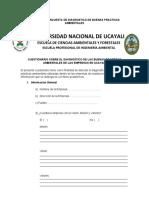 FORMATO DE ENCUESTA DE DIAGNOSTICO DE BUENAS PRACTICAS AMBIENTALES (1)