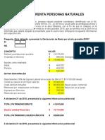 Caso IV - Formulario-210 Personas Natruales