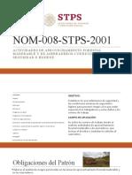 NOM-008-STPS-2001