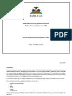 Pwogram DFP Ekol Nomal vesyon  revize