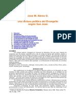 Abreu, José M. - Lectura politica de  Juan (doc)