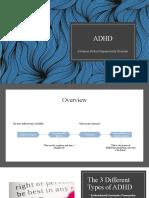 education adhd paper
