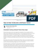 How To Become a Software Tester - businessnewsdaily.com