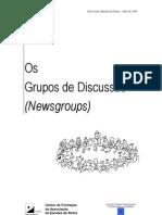Curso de desenvolvimento de projectos educativos com suporte telemático - 3 (Os Grupos de Discussão)