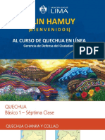 PPT - 7ma Clase Quechua