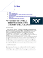 overview of telecommunication in bd
