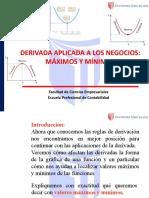 13. DERIVADA_ APLICADA A LOS NEGOCIOS_MAXIMOS Y MINIMOS(1)