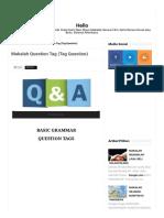 Makalah Question Tag (Tag Question) - Serba Serbi (Copy 2) (Copy).pdf