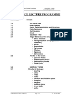 01Geoscience Lecture Program