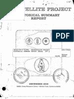 Bio Satellite Project Historical Summary Report