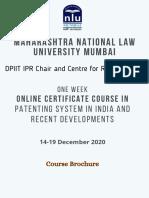Patent-Course-Brochure