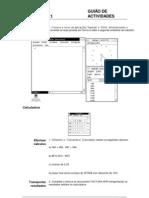 Guião de actividades windows 3.1