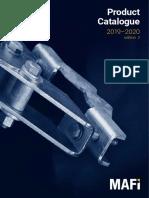 MAFI 2019-2020 product catalogue