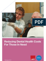 Reducing Dental Health  Costs For Those In Need