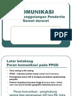 KOMUNIKASI pd PPGD (Depkes-GELS) - dr Tri ( W )