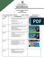AAC accomplish report