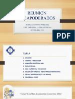 IMPORTANTEEEE REUNIÓN APODERADOS 10 y 11 NOVIEMBRE 2020