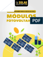 Regras de ouro para a escolha dos módulos FV - Solar Business Brasil