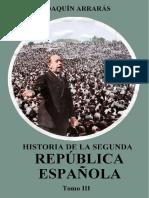Arraras Joaquin - Historia De La II Republica Española - Tomo III