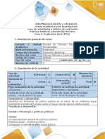Guía de actividades y rubrica de evaluación fase 5- Evaluación final