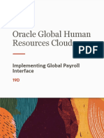 implementing global payroll interface