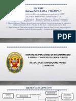 MANUAL DE OPERACIONES DE MANT REST DEL ORDEN PUBLICO CLASE 4