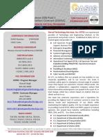 GTS OASIS SB Pool 1 Brochure June 2020