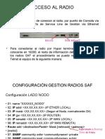 CONFIGURACIÓN GESTION RADIOS SAF