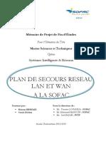 Plan de secours reseau LAN et  - DLIAA Yassir_1130.pdf