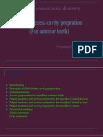 access cavity prepration