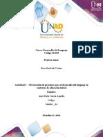 Anyi _ Actividad 3 - Observación de prácticas para el desarrollo del lenguaje en contextos de educación inicial