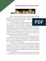 BREVE PERSPETIVA HISTÓRICA DO ESTUDO DO MEIO