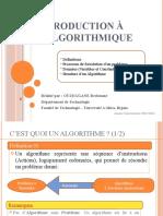0001- Introduction à L'Algorithmique.ppsx