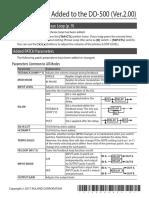 DD500 Update Manual
