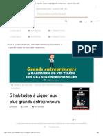 5 habitudes à piquer aux plus grands entrepreneurs - Apprenti Millionnaire.pdf