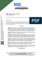 Tránsito – Proceso contravencional de infracciones al tránsito por alcoholemia.  20201340299961 MARIO ANDRÉS PUENTES VALENCIA.pdf