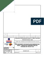 109-D91PC-015 - PROCEDIMIENTO INSTALACIÓN DE RADAR TF1