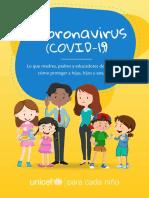 Guía sobre el COVID-19 para padres, madres y educadores