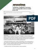 Sobre alianças complexas Indígenas escravos desertores militares e a expansão rumo ao oeste amazônico