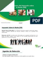Retenciones del Impuesto sobre la Renta (ISR)