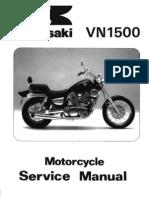 Kawasaki VN1500 '87-'99 Service Manual
