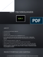 KPIT Technologies Fundamental Analysis